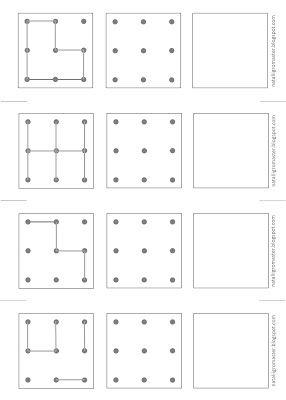 SIMPLE risovalka-POVTORYALKI - PRINT :: Teken en Games, waarin kinderen spelen en ik