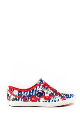 Desigual women's Alina sneakers. You'll look great this summer with these fresh and colourful trainers.