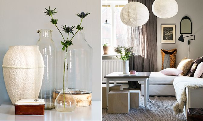 Badrum Comfort Södermannagatan : Grey colors and heavy textiles in this cosy living room the wall