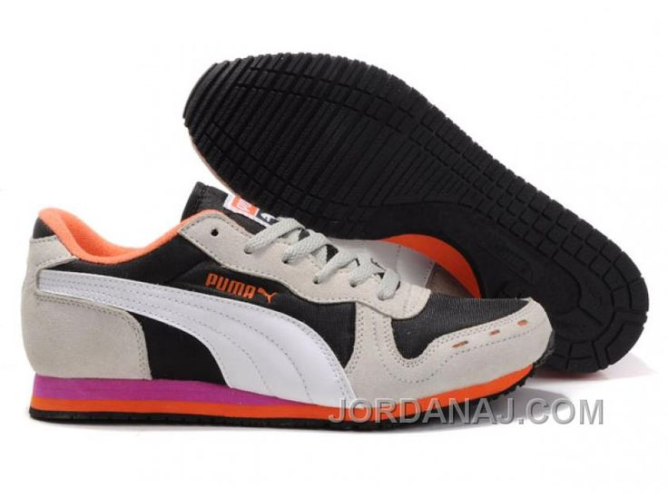 Discount 211756 Puma Cabana Racer II Lx Unisex Black White Shoes