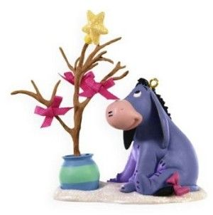 2009 Humble Sort of Christmas Eeyore Hallmark Disney Keepsake Ornament