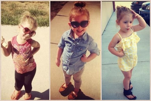 Chelsea Houska's Daughter Aubree Houska Strikes a Model Pose!