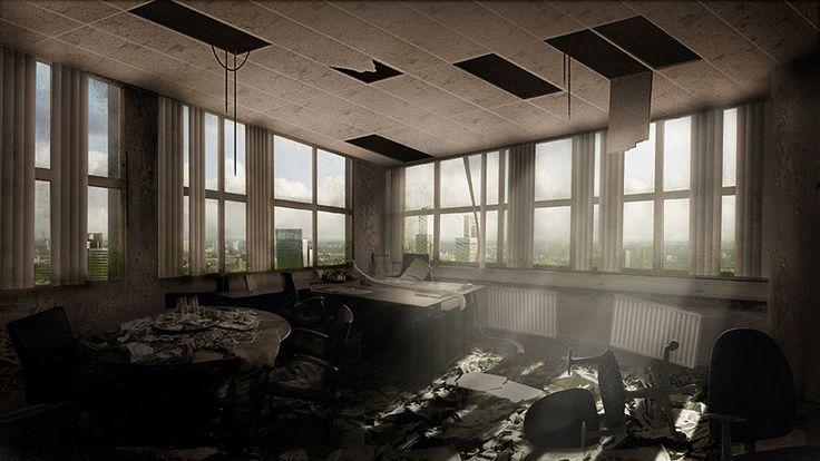 100 jaar verlaten Rotterdam