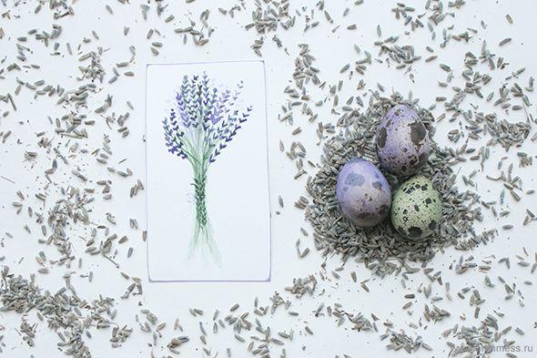 Пасха в лавандовых тонах / Easter in lavender colors