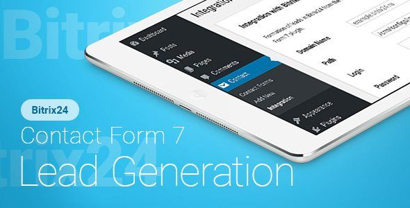 Download Contact Form 7 - Bitrix24 - Lead Generation Nulled Latest Version