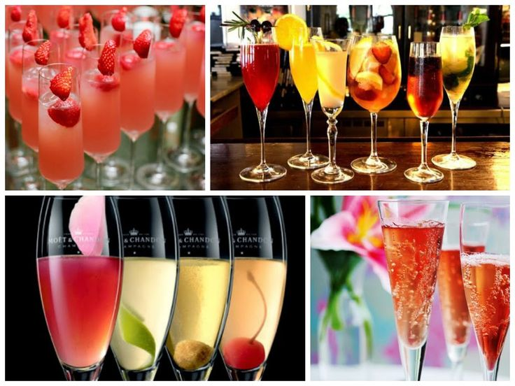 Noiva com Classe: 25 Receitas de Drinks e Coquetéis feitos com Champagne ou Espumante para Festas, Casamentos e Jantares