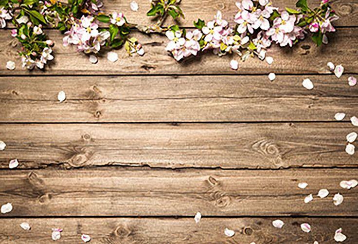 Patterned Backdrops Flower Backdrop Spring Backgrounds HJ03589