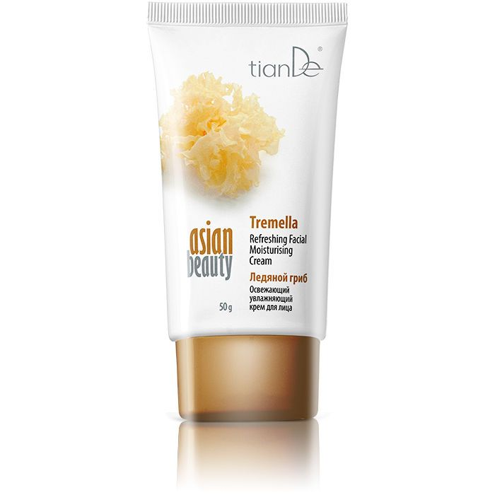 Refreshing and Moisturizing Facial cream Tremella by TianDe. Defeat the Ageing!