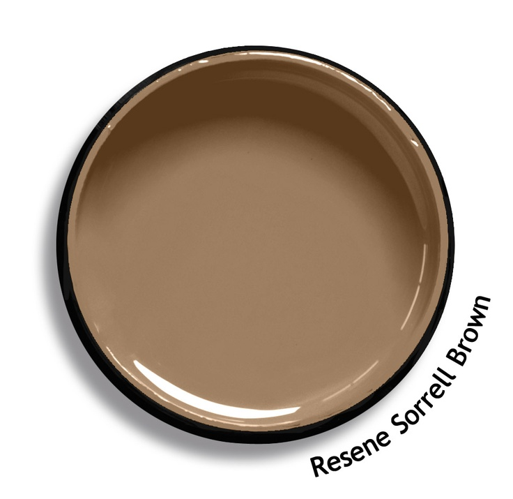 Resene Sorrell Brown is a red tan, leathery and equine. From the Resene Karen Walker Paints colour range. Try a Resene testpot or view a physical sample at your Resene ColorShop or Reseller before making your final colour choice. www.resene.co.nz/karenwalker.htm