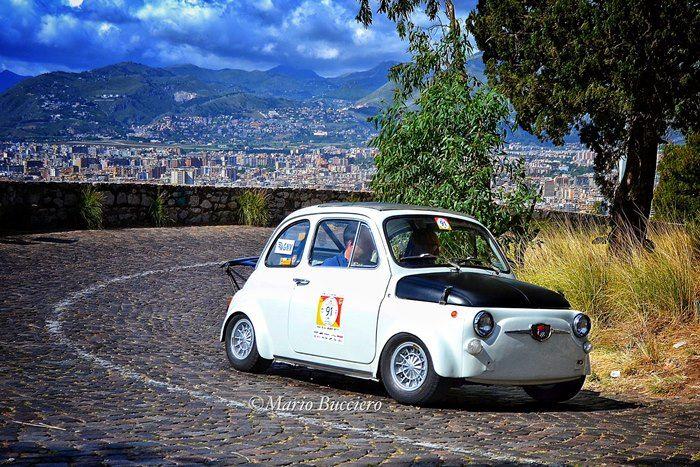 La 500 del socio Gaspare La Commare al Monte Pellegrino Historic