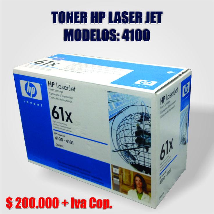 TONER HP LASER JET 4100