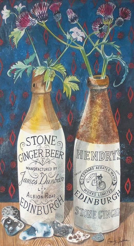 "Emily Sutton...new work...""Still Life with Ginger Beer"""