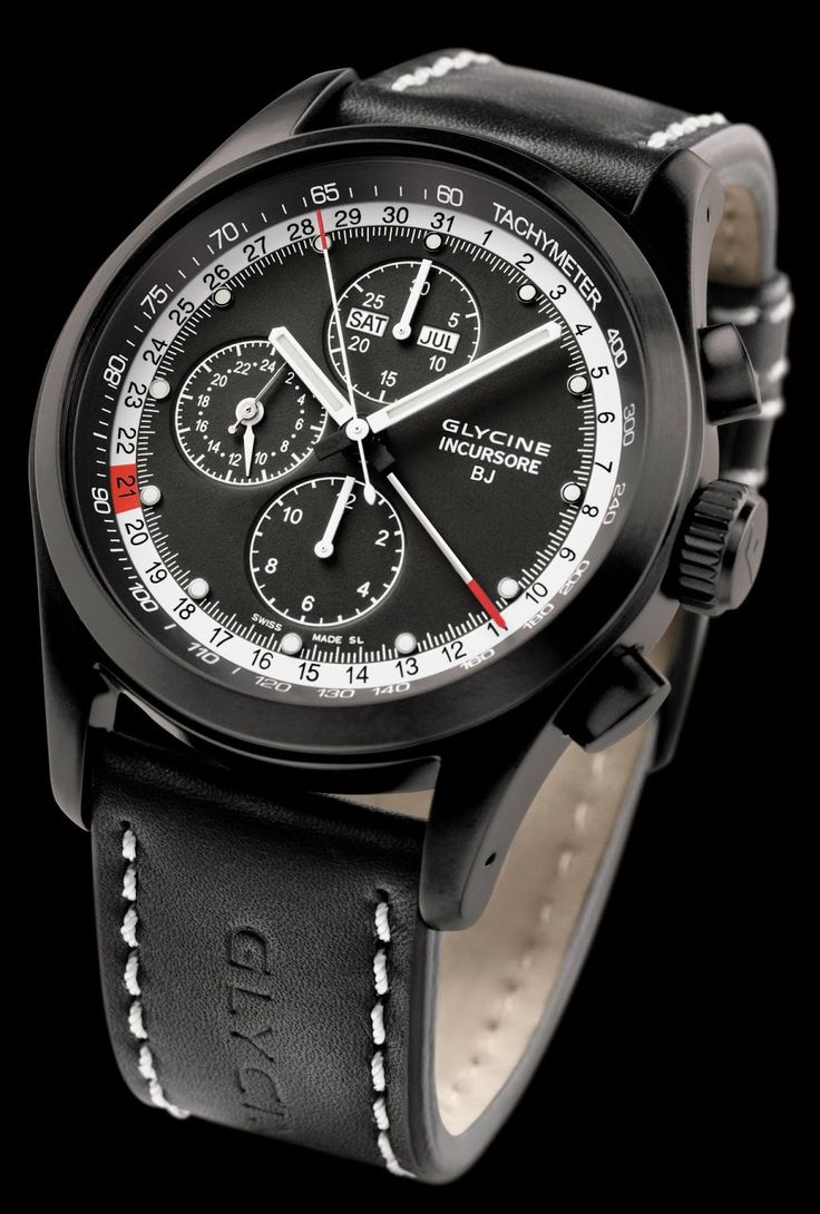 Glycine Incursore Black Jack Complique (Ref 3872.99-D9) - ETA 7751 Movement Automatic Including Chronograph, Limited to 150 pieces http://www.bidorbuy.co.za/item/181850032/GLYCINE_INCURSORE_BLACK_JACK_COMPLIQUE_LIMITED_EDITION_MENS_WATCH.html