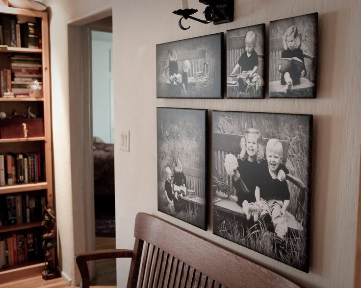 Great way to display family photos