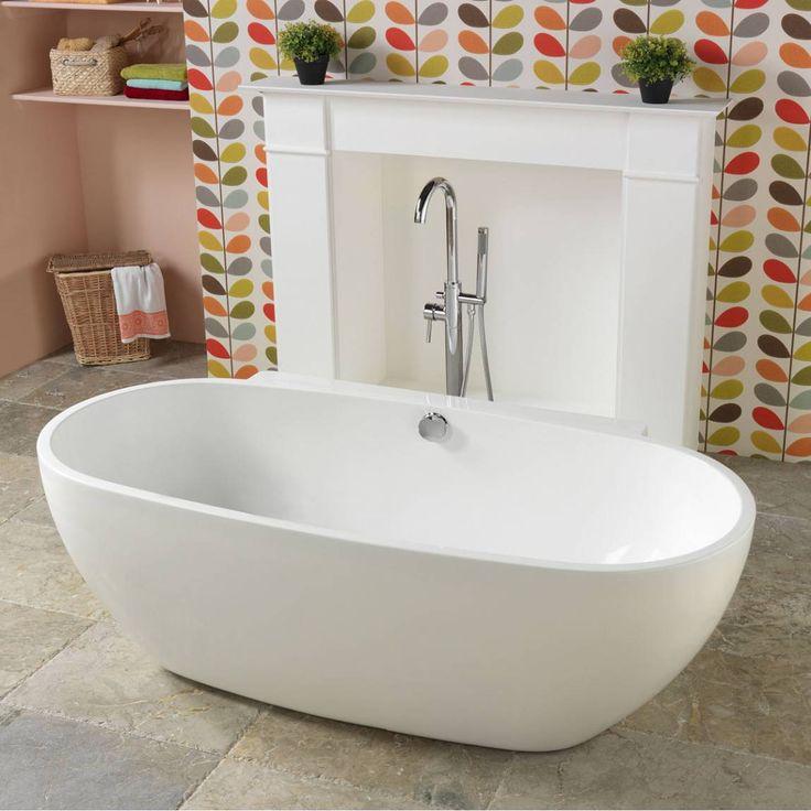 Positano freestanding bath victoria plumb bathroom for Roll top bathroom ideas