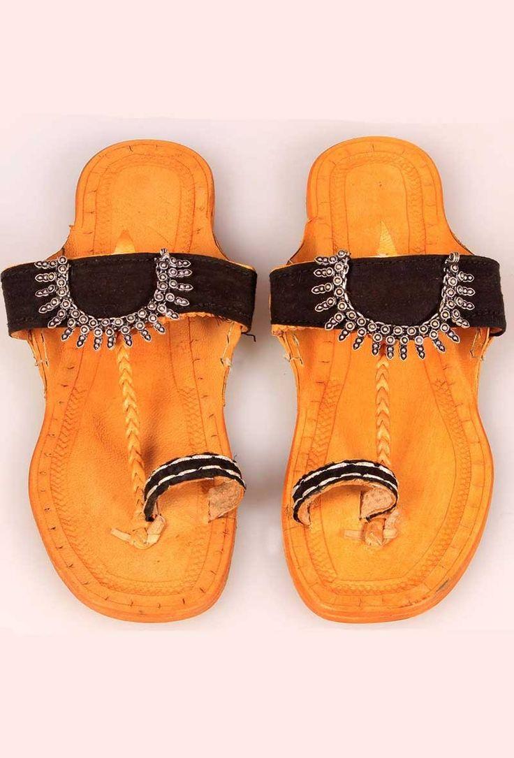 Lambani Soles Kolhapuri footwear for women | Kolhapuri Ethnic Footwear | Tijori
