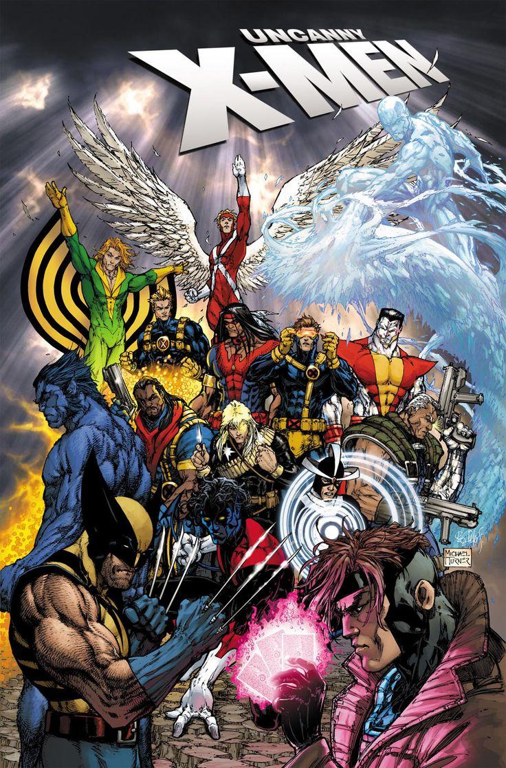 Uncanny X-Men # 500 variant cover by Michael Turner (R.I.P.)