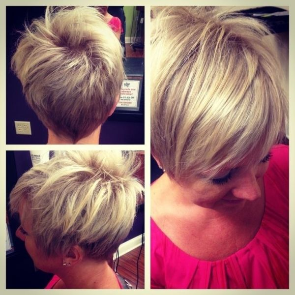 Back View of Layered Pixie Cut – Short Pixie Cut for 2014 ...