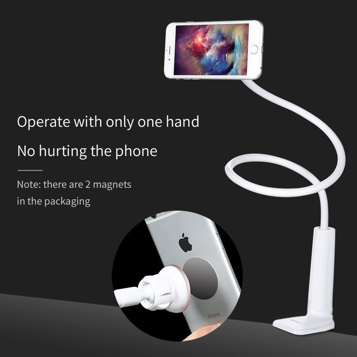 Mobile Phone Tablet Holder Desk Stand For Samsung For iPhone For iPad Support Telephone Voiture Grip Long Arm