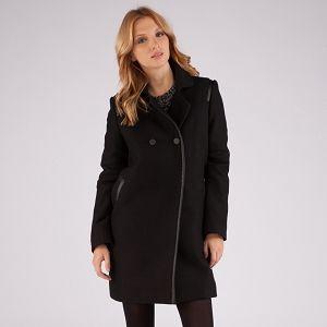 Rock-chic coat | Coats and jackets | Comptoir des Cotonniers