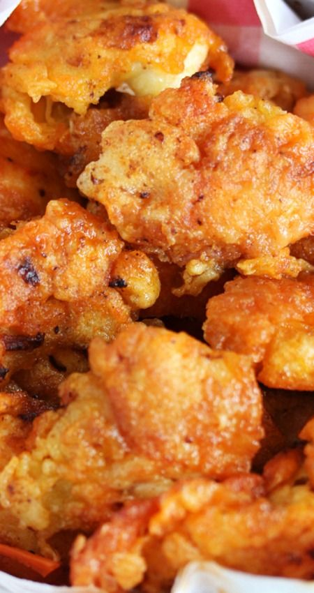 Crispy Fried Buffalo Chicken Bites that are guilt-free ~ Paleo, gluten-free, grain-free, nut-free, and dairy-free!