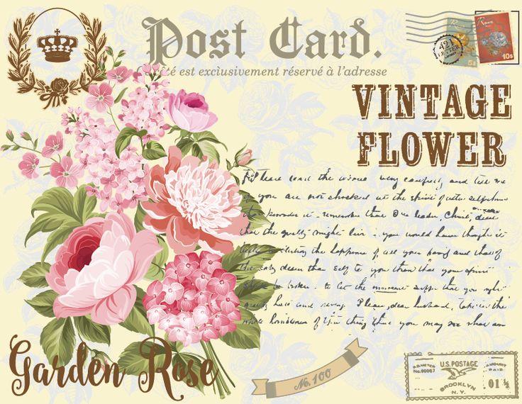 my design/rose-post card