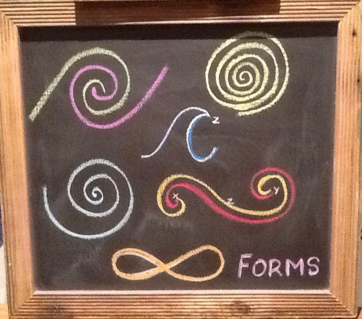 Grade 1- Form Drawing