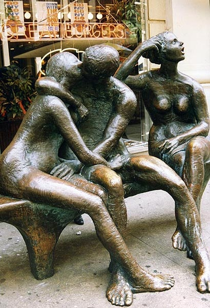 Threesome Sculpture  Street Sculpture in New York