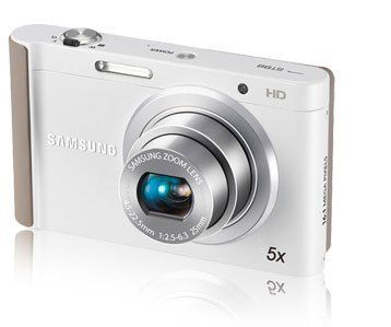 Samsung ST88 Digital Camera - 16mp - 5x Optical Zoom - White by Samsung. $118.69. Even with F2.5 lens and 16.1 megapixels, the stylish ST88 still fits nicely in your pocket, so you can easily capture memories in astounding detail - wherever you go. Its Optical Image Stabilization ensures clear and steady shots - even in low light conditions. And creative, fun features such as Live Panorama, Picture in Picture, Funny Face and Magic Frame let you show off your artistic sid...