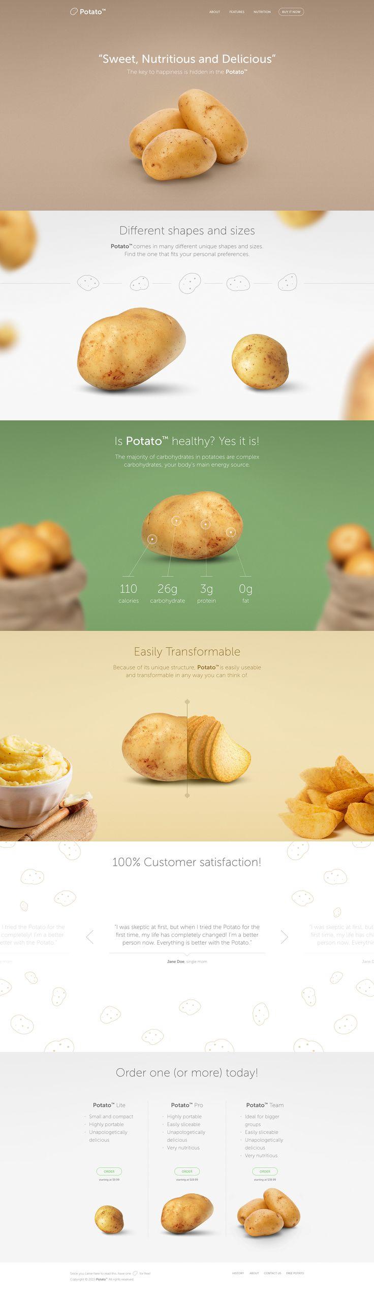 https://www.behance.net/gallery/26538381/Potato-Landing-Page