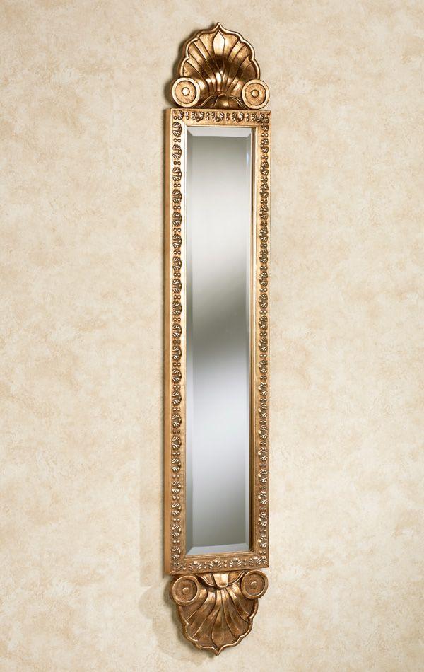 Shell Sargent Narrow Wall Mirror Panel Wall Mirror Makeup