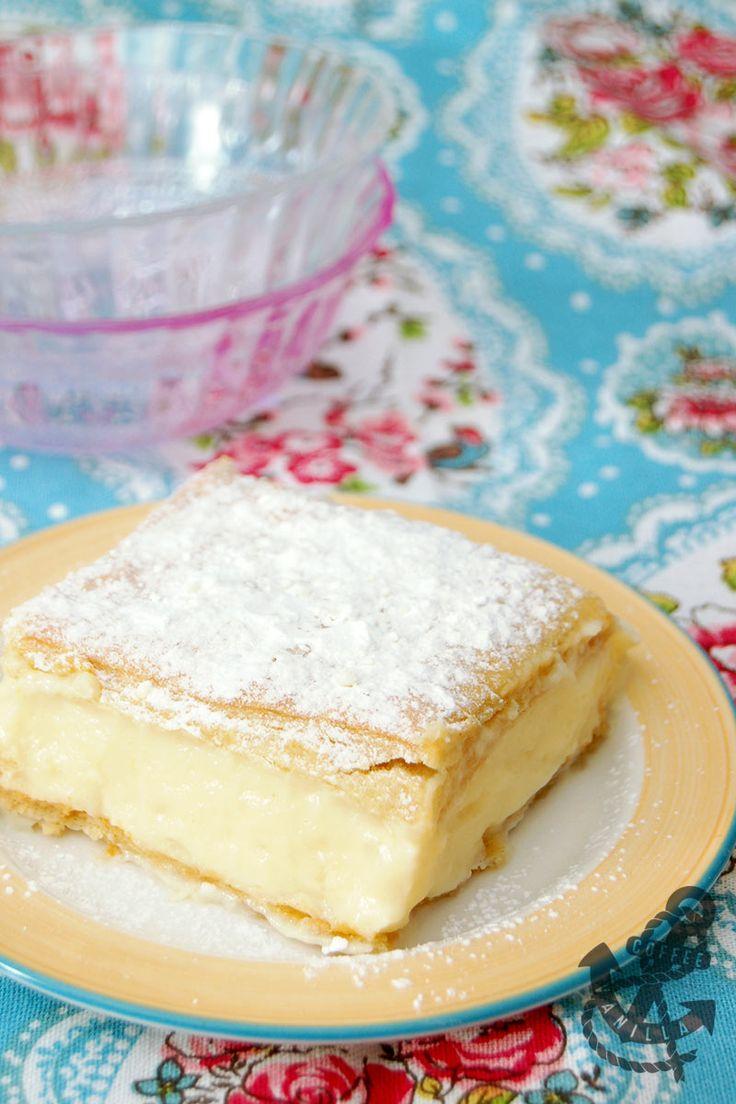 Napoleonka - Polish Custard Cream Pie