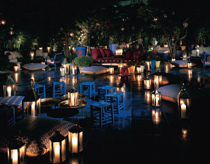 The Shore Club's Skybar - a fave SoBe hangout of mine.