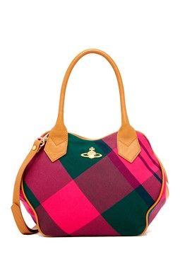 Vivienne Westwood Summer Tartan Bag