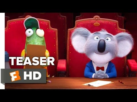Sing Official Teaser Trailer #1 (2016) - Scarlett Johansson, Matthew McConaughey Movie HD - YouTube
