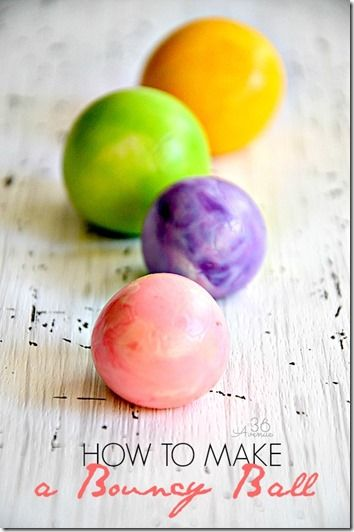 Amazing Bouncy Ball Recipe! Super cool summer activity for kids that will WOW kids of all ages!