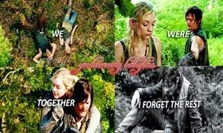 Beth Greene and Daryl Dixon, Bethyl The Walking Dead couple (Emily Kinney and Norman Reedus) Normily