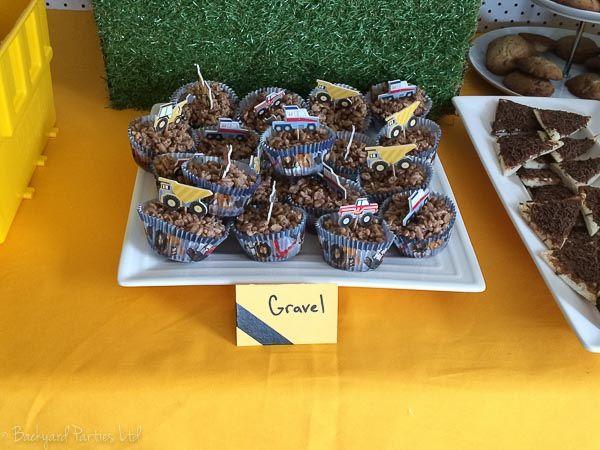 Digger crackle, using Meri Meri Big Rig cupcake cases.