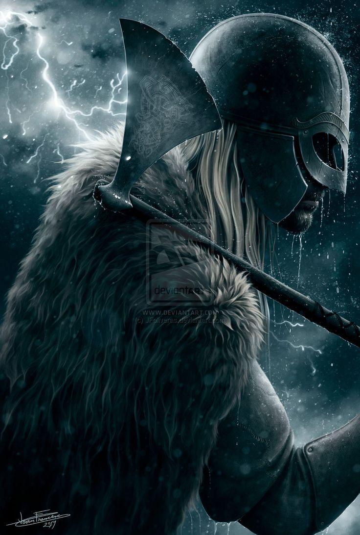 Wrath Of The Thunder God by JFoliveras.deviantart.com on @DeviantArt