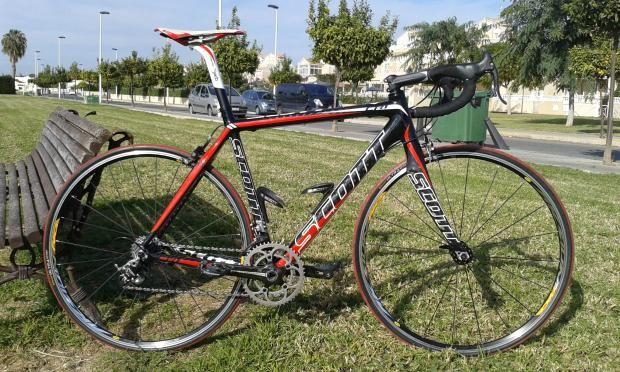 Bicicleta Carbono SCOTT CR1 | Todobicis