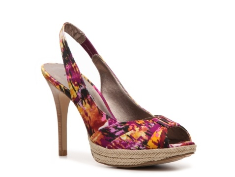 Just bought the perfect shoe to go with many things in my closet! Moda Spana Quicksand Print Pump