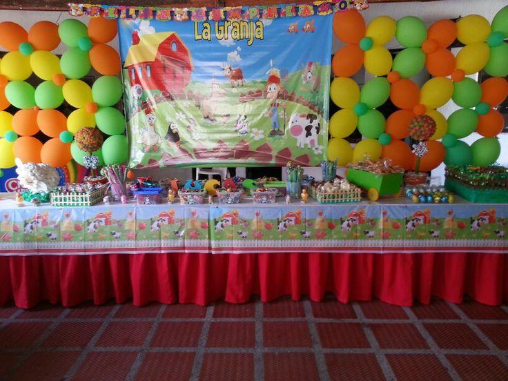Sweet tablet farm party