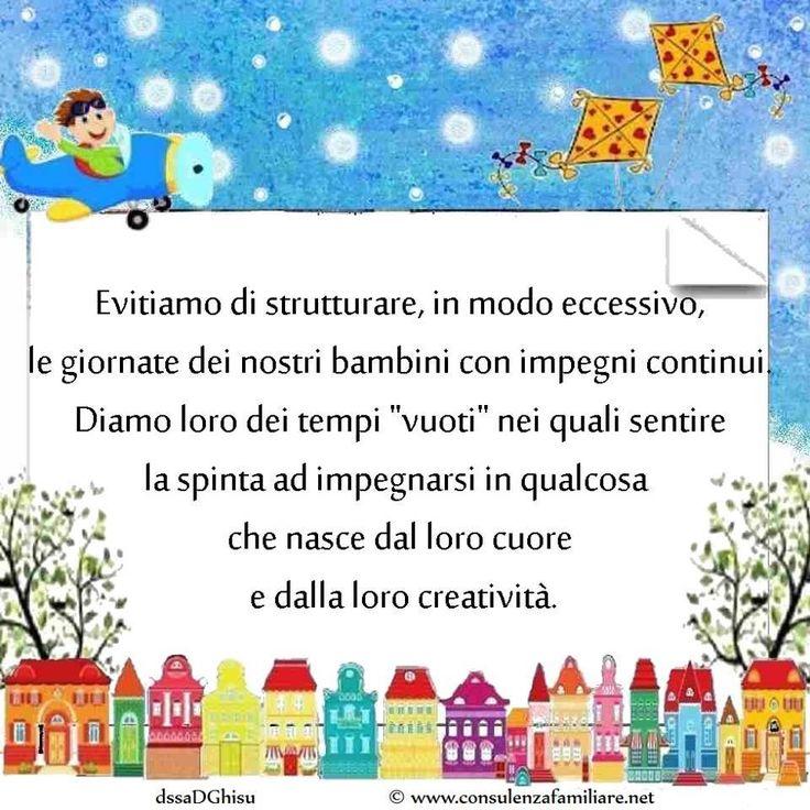 La noia del #bambino è preziosa per la sua creatività. #educazione #figli #crescita #infanzia #adolescenza #genitori #psicologiainfantile #mamma #bambini #famiglia #papà #consulenzagenitoriale #psicopedagogia #dssaDGhisu