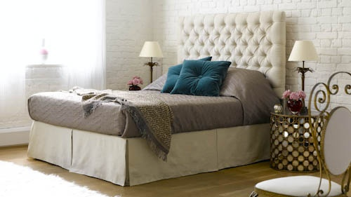 Valentin divan storage king size bed in pure belgian linen for King size divan bed with storage