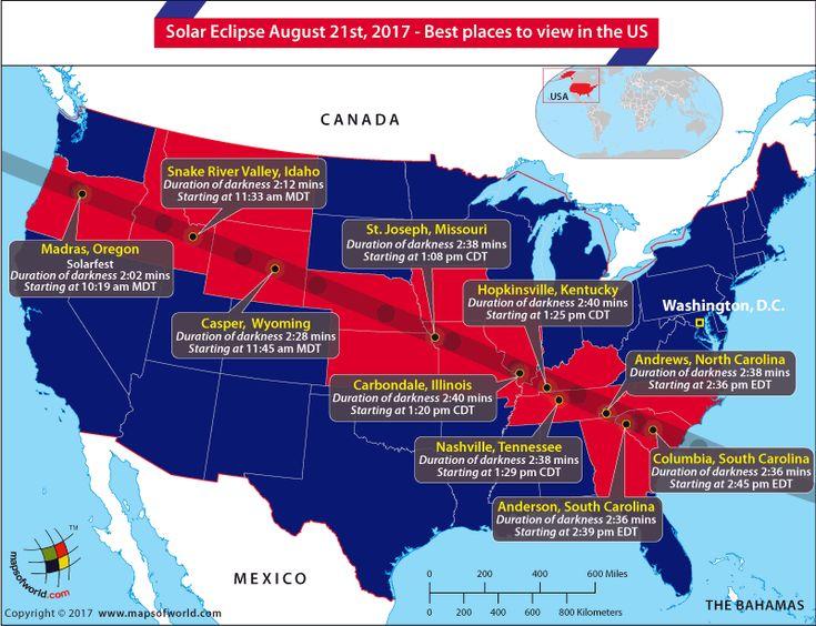 Unique Solar Eclipse Map Ideas On Pinterest Total - Solar map us