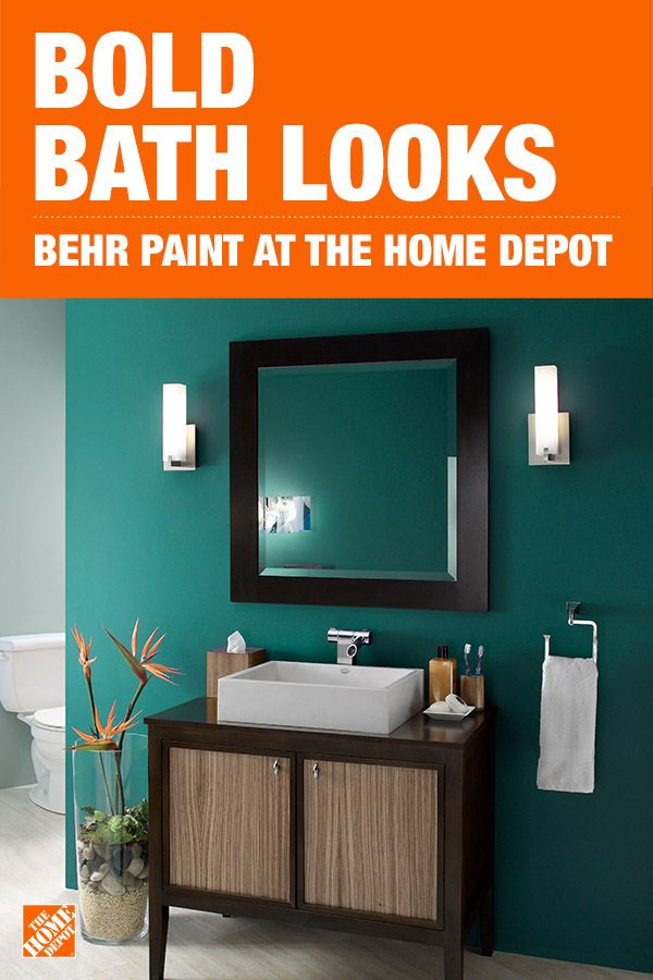 Behr Ultra 1 Gal M450 7 Beta Fish Extra Durable Eggshell Enamel Interior Paint Primer 275301 The Home Depot Accent Wall Paint Colors Interior Paint Accent Wall Paint