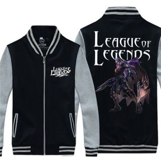 Printed Talon baseball uniform for youth League of Legends plus size sweatshirt