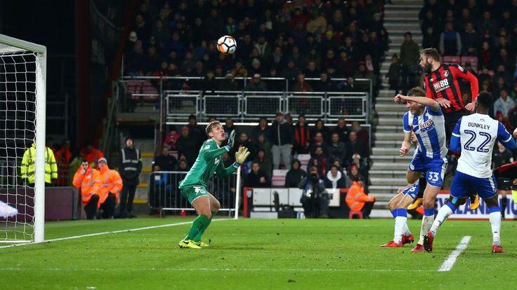 Bournemouth defender Steve Cook serves up late equaliser against Wigan