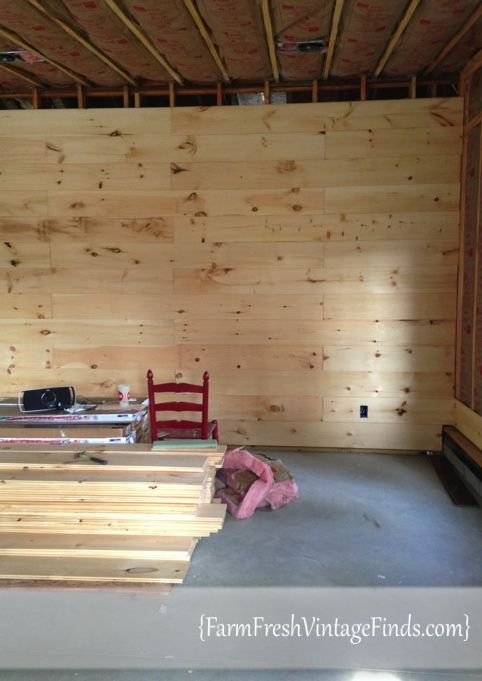Building A Plank Wall Can Add So Much Depth To Room Come See How