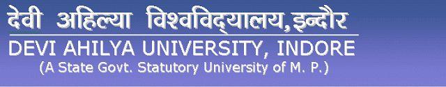 Bonala Kondal: Devi Ahilya Vishwavidyalaya MPhil / PhD Admission ...